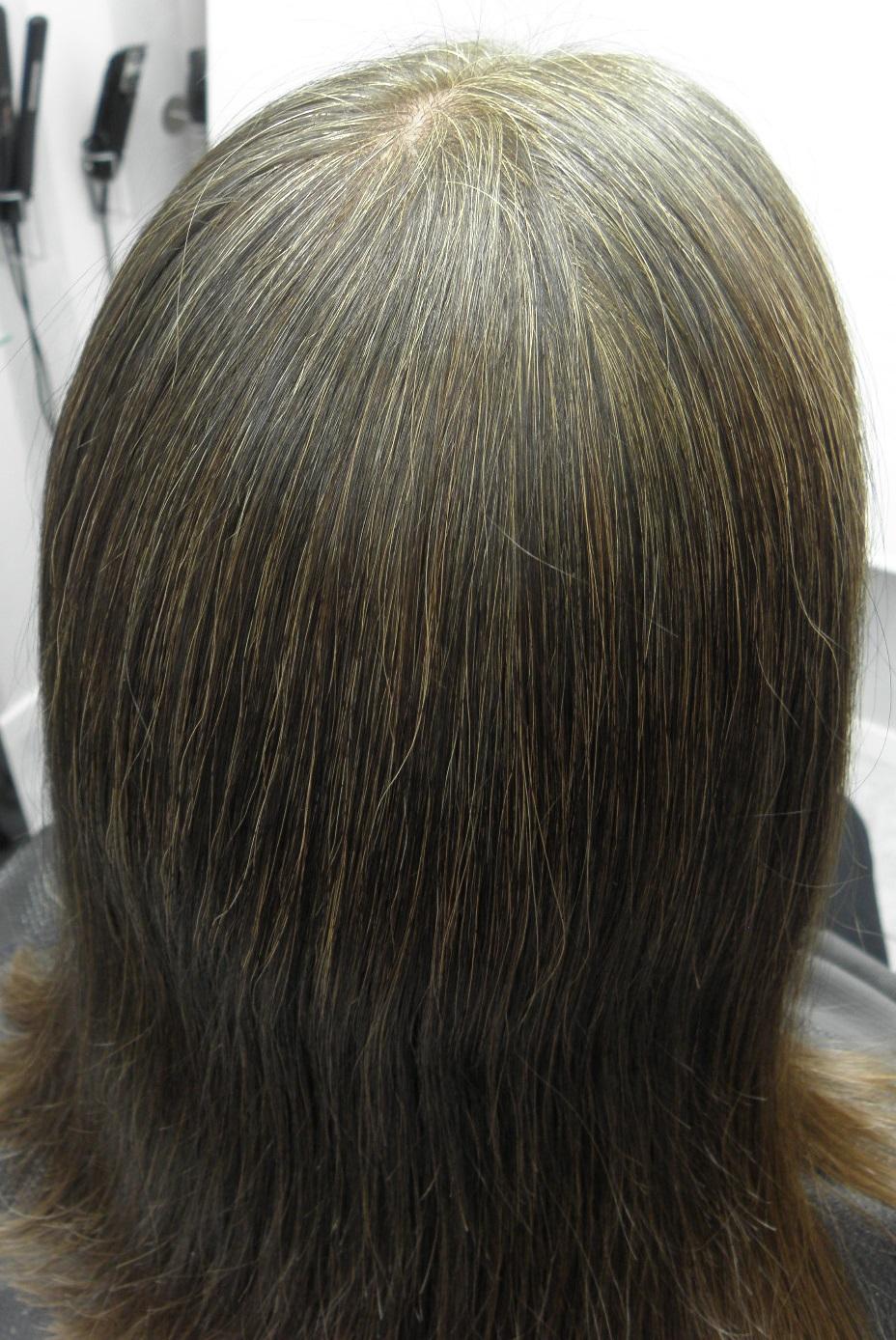 när börjar man få grått hår