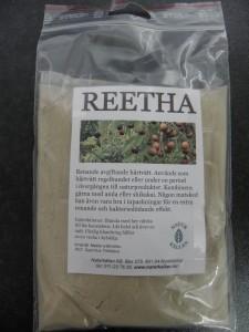 Reetha Renande och avgiftande och bakteriedödande. Bra vid övergång till ekologiskt hår