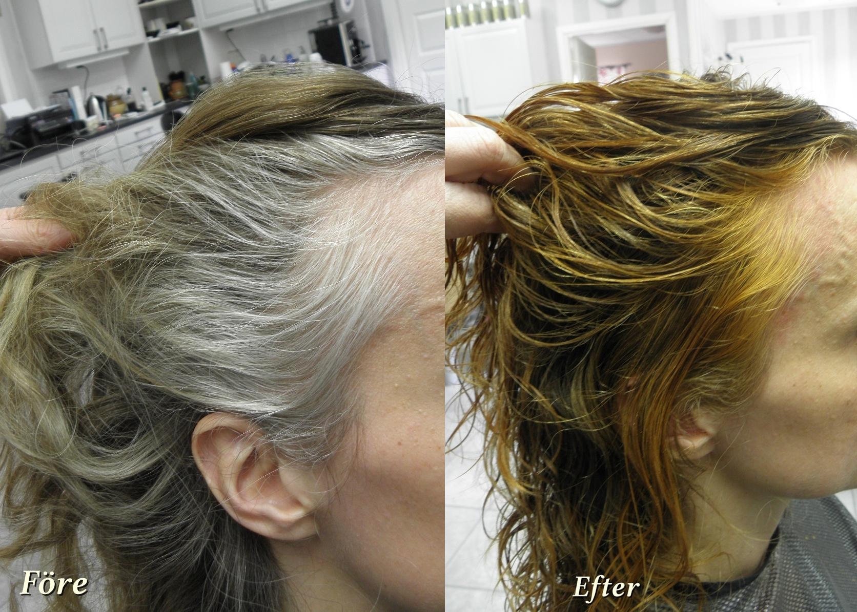 mot grått hår