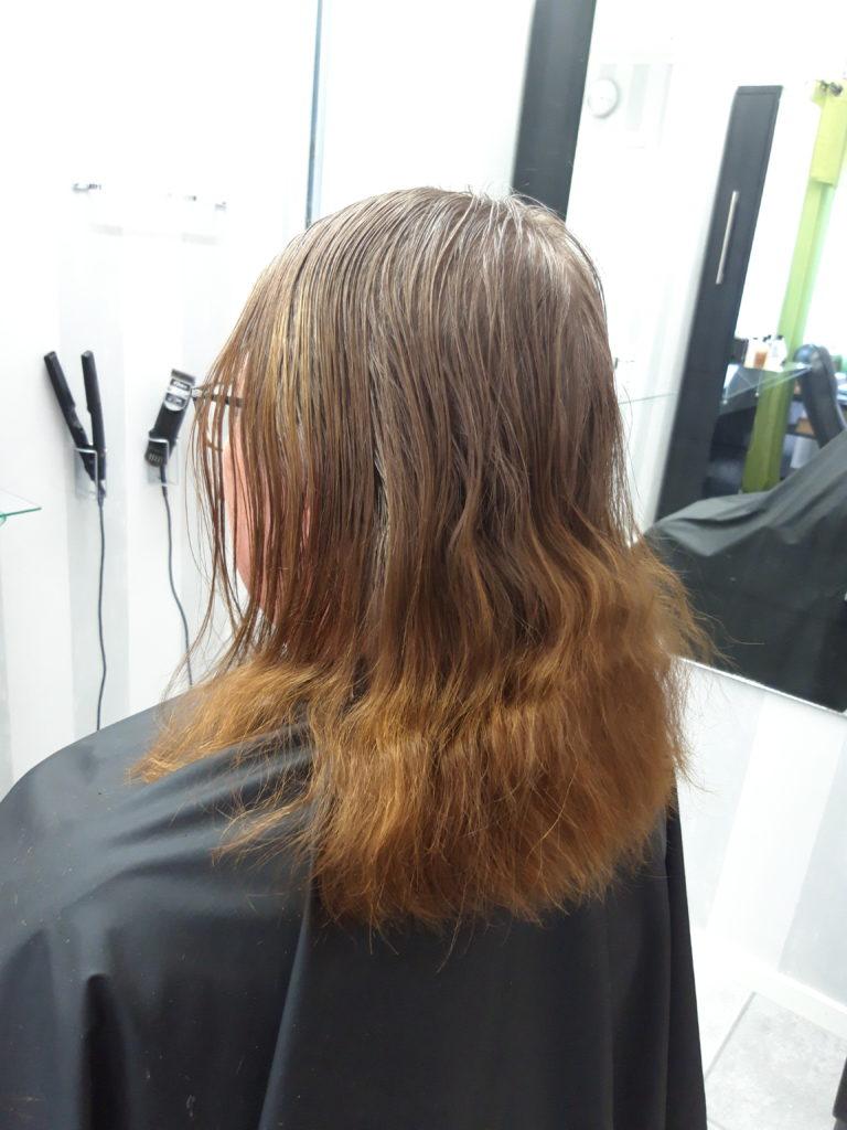 färga håret ekologiskt